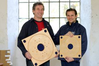 Karl Wenning und Kolja Sparrer 2008, Foto: Lisa Martin