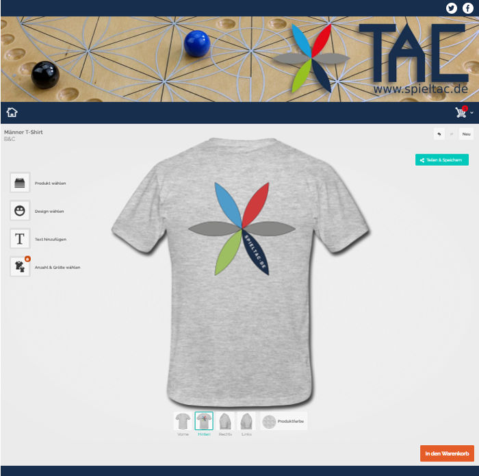 TAC Fanartikel Shop